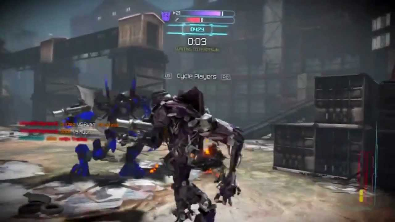 Transformers Online Gameplay