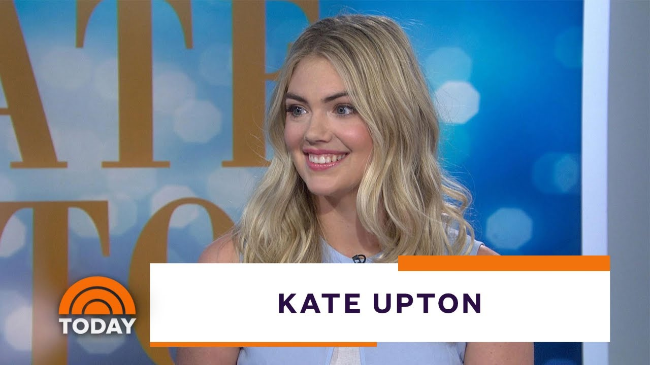 Kate Upton Says Unretouched Health Cover Is A Step Forward Today Youtube