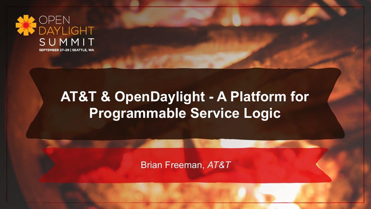 At T Opendaylight Brian Freeman