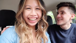MY BOYFRIEND REACTS TO MY NEW HAIR **TRANSFORMATION**