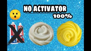 How to make slime without activator!! No borax no shaving foam!! To make during lockdown!!