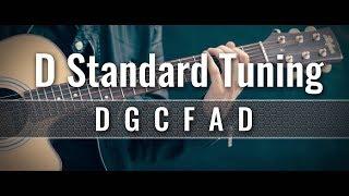 d standard guitar tuner (dgcfad)