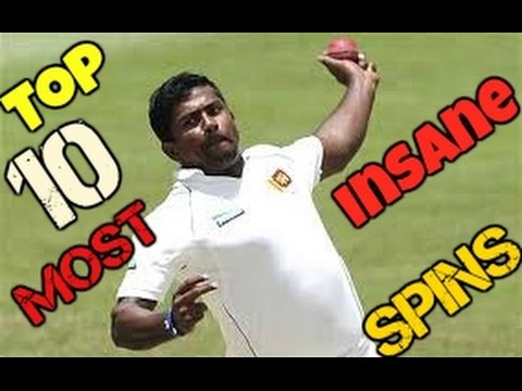 Top 10 Most Insane Spins In The Hitory Of Cricket 2017 (1970-2017) (ViewersTUBE) Must Watch