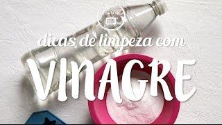 como limpar : dicas com vinagre | Flávia Ferrari