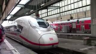 скоростной поезд ICE Штутгарт - Париж