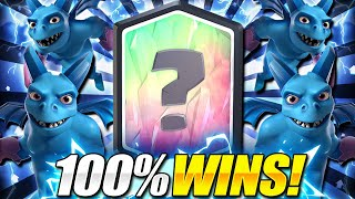THIS IS TOO EASY!! #1 DECK TO PUSH TROPHIES IN CLASH ROYALE!!