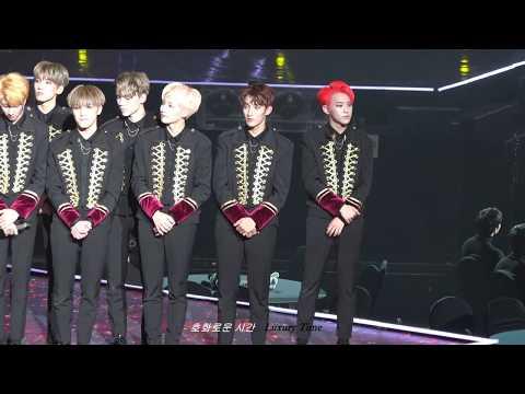 """171115 AAA - Best Artist Award """"수상소감"""" 세븐틴 SEVENTEEN 호시 직캠 HOSHI FOCUS"""