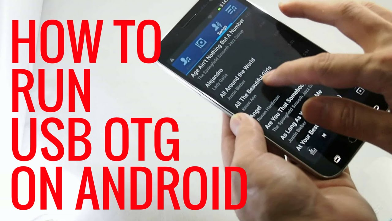 how to use otg on any android