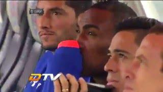 Liga MX 2016 - J02 - El color:  Cruz Azul vs Chivas