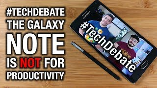 The Galaxy Note 8 is NOT a Productivity Phone - Pocketnow #TechDebate