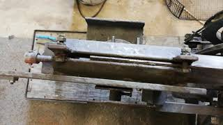 Old home made power hacksaw