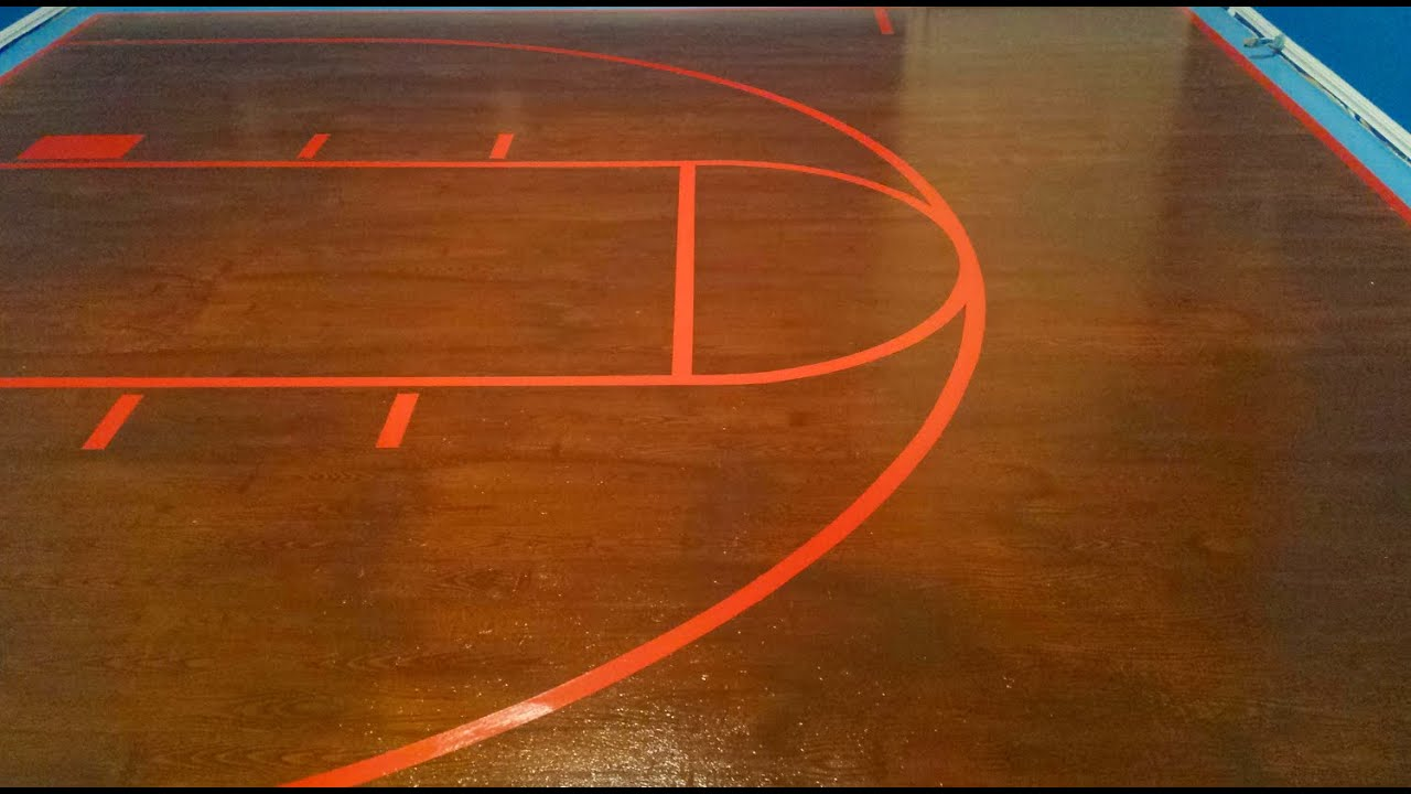 Painted Plywood Floors Basketball Court Painted Court