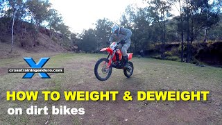 HOW TO WEIGHT & DEWEIGHT YOUR DIRT BIKE: Cross Training Enduro Skills