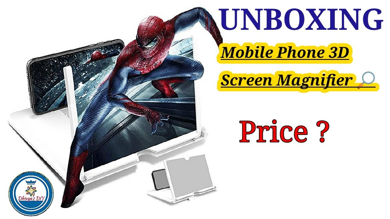 Mobile Phone Screen enlarger latest design /Unboxing/ Smart Phone Screen Magnifier from Amazon