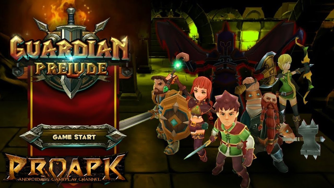 Guardian Prelude Android Gameplay (Open World MMORPG)