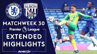 Chelsea v. West Brom | PREMIER LEAGUE HIGHLIGHTS | 4/3/2021 | NBC Sports