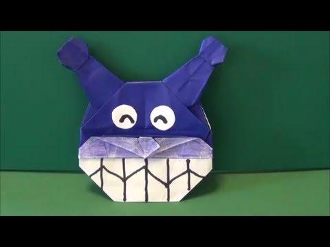 折り紙の 折り紙 バイキンマン : vongi.blog72.fc2.com