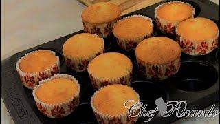 Sultanas Cupcakes Recipes(Kids Recipes For This Summer)From Chef Ricardo Cooking