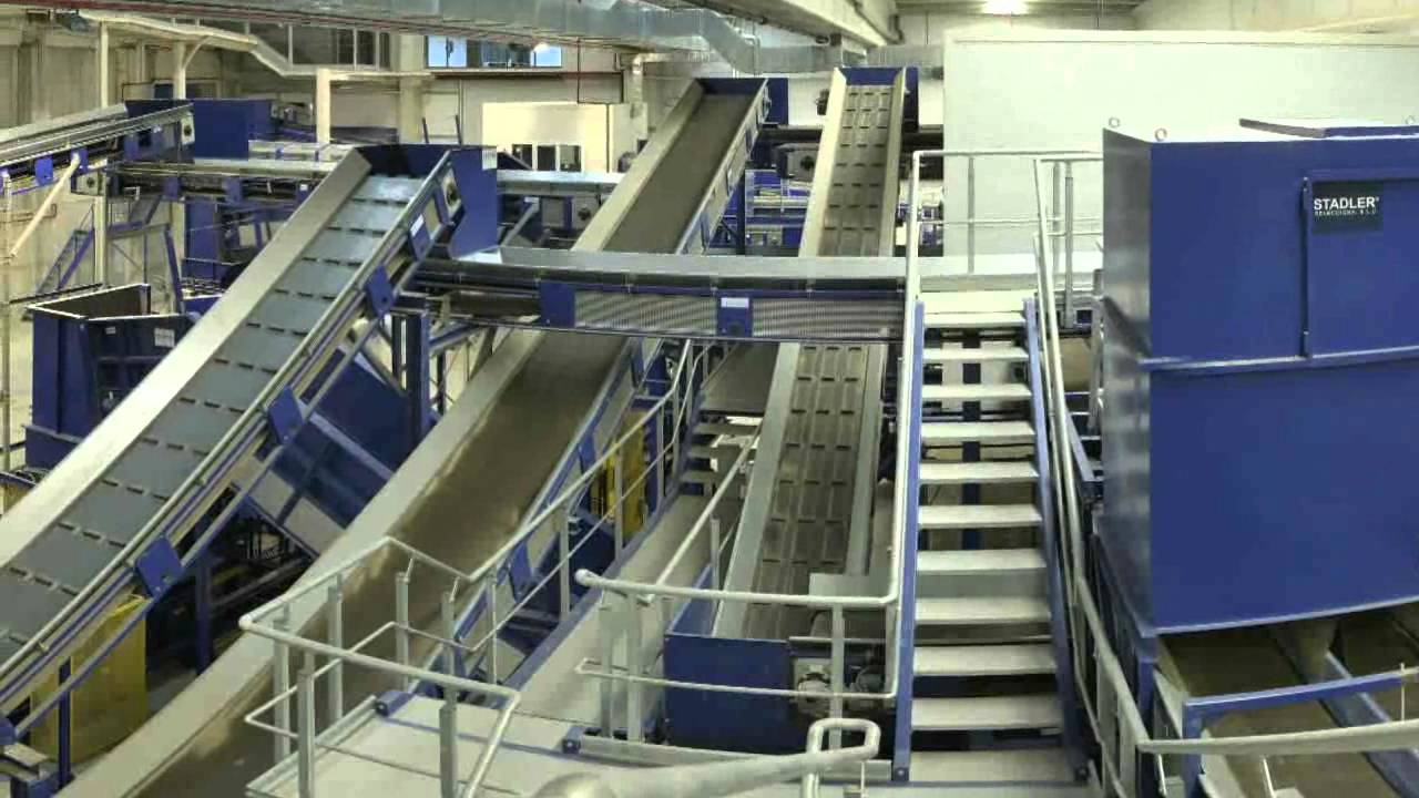 Stadler Sorting Plant For Municipal Solid Waste Msw