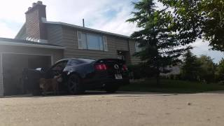 2011 Ford Mustang GT - Cat Delete & Pypes Pype Bombs: Startup, Idle & Revs