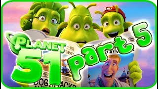 Planet 51 Walkthrough Part 5 (PS3, Xbox 360, Wii) - Movie Game