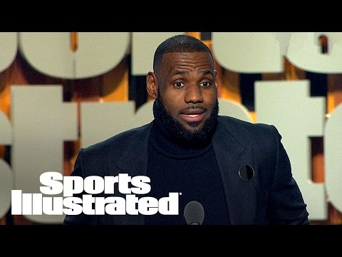 Best Of LeBron James At 2016 Sportsperson Of The Year | SPOTY 2016 | Sports Illustrated