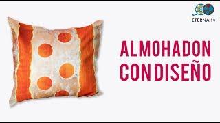 Almohadones con diseño | Emilia Noguera en Manos a la Obra