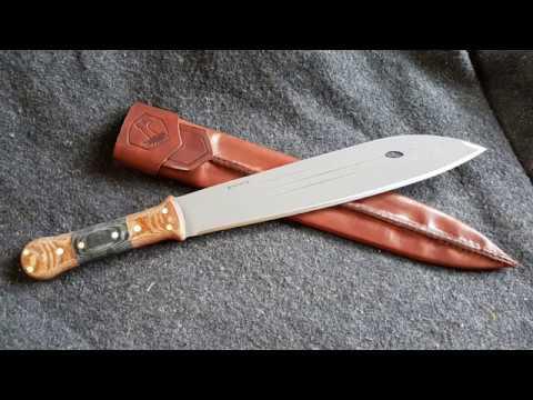 Matt Graham Survival Primitiv Bush Knife Youtube