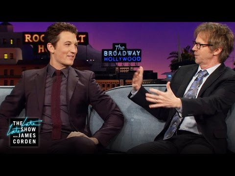Miles Teller Pitches Wayne's World 3 to Dana Carvey