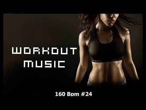 Workout music fitness 160 bpm, Cardio box, Step, Nov 2017 #24