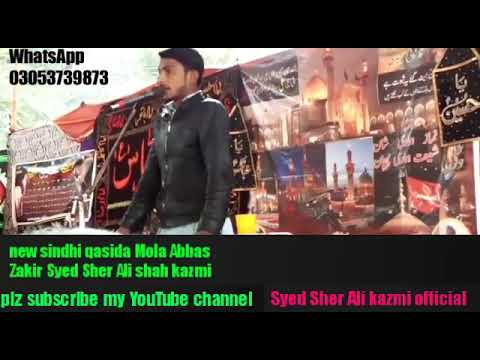 New Qasida 4 Shahban Mola Abbas As Syed Sher Ali Kazmi Official