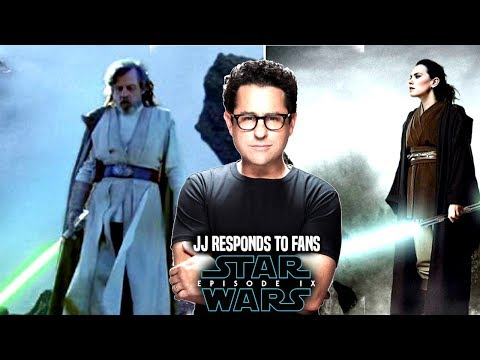 Star Wars Episode 9 JJ Abrams Responds To Fans & More! (Star Wars News)