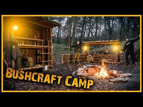 Bushcraft Camp [S05/E12] ???? Lagerfeuerromantik und leckere Soljanka ????️ - Outdoor Bushcraft Lagerbau
