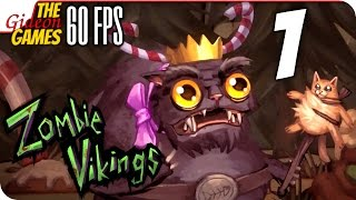 Прохождение Zombie Vikings на Русском [PС|60fps] - #1 (БДСМ-Червяки)
