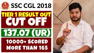 Result Declared SSC CGL 2018 👍👍 Cut Off 137.07 (UR)