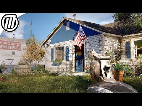 Far Cry 5: Exploring Open-World AMERICA - Gameplay Live Stream