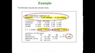 Statistics - Multiple & Nonlinear Regression