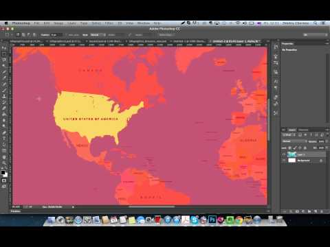 WDI PS.Базовые инструменты Photoshop - Урок 04: Как редактировать выделение с помощью быстрой маски.