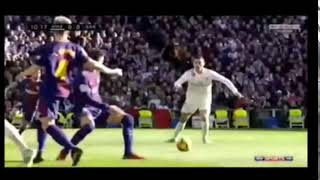 Cristiano Ronaldo miss the ball Real madrid vs Barcelona 0-3