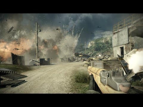 Perhaps Best Firing Sounds in Games ! In Online FPS Battlefield Bad Company 2