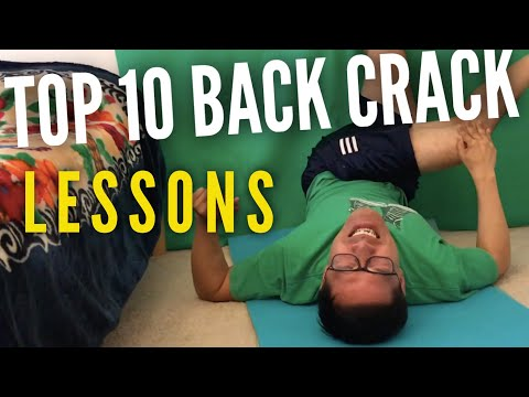 How to Crack your Own Back :: Lower Back Adjustment :: tutorial lesson