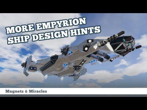 9 more Empyrion SHIP DESIGN HINTS - MaM gaming - how to design a capital vessel
