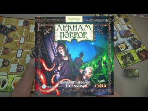 Final Thoughts - Arkham Horror  + Kingsport