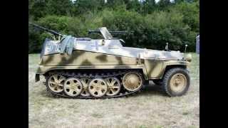 GERMAN WWII SDKFZ 251 HALFTRACK. 1939 - 45.