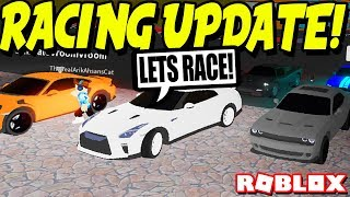 I Raced Against My Fans In The NEW Full-Throttle Update! (Roblox)