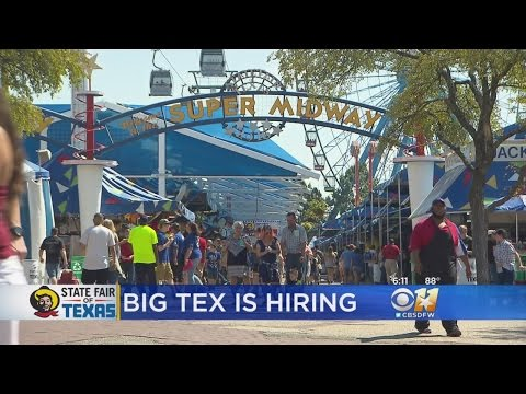 State Fair Of Texas Is Hiring