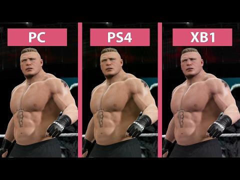 WWE 2K17 – PC vs. PS4 vs. Xbox One Graphics Comparison
