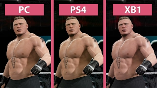 347 WWE 2K17 PC Vs PS4 Xbox One Graphics Comparison Candyland MP3 MP4