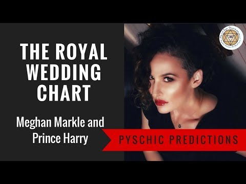 Psychic Predictions: The Royal Wedding Chart, Meghan Markle and Prince Harry