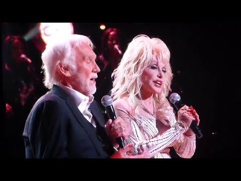 Kenny Rogers Dolly Parton talk - All for the gambler